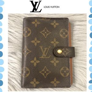 Authentic Louis Vuitton Monogram Agenda/ Wallet